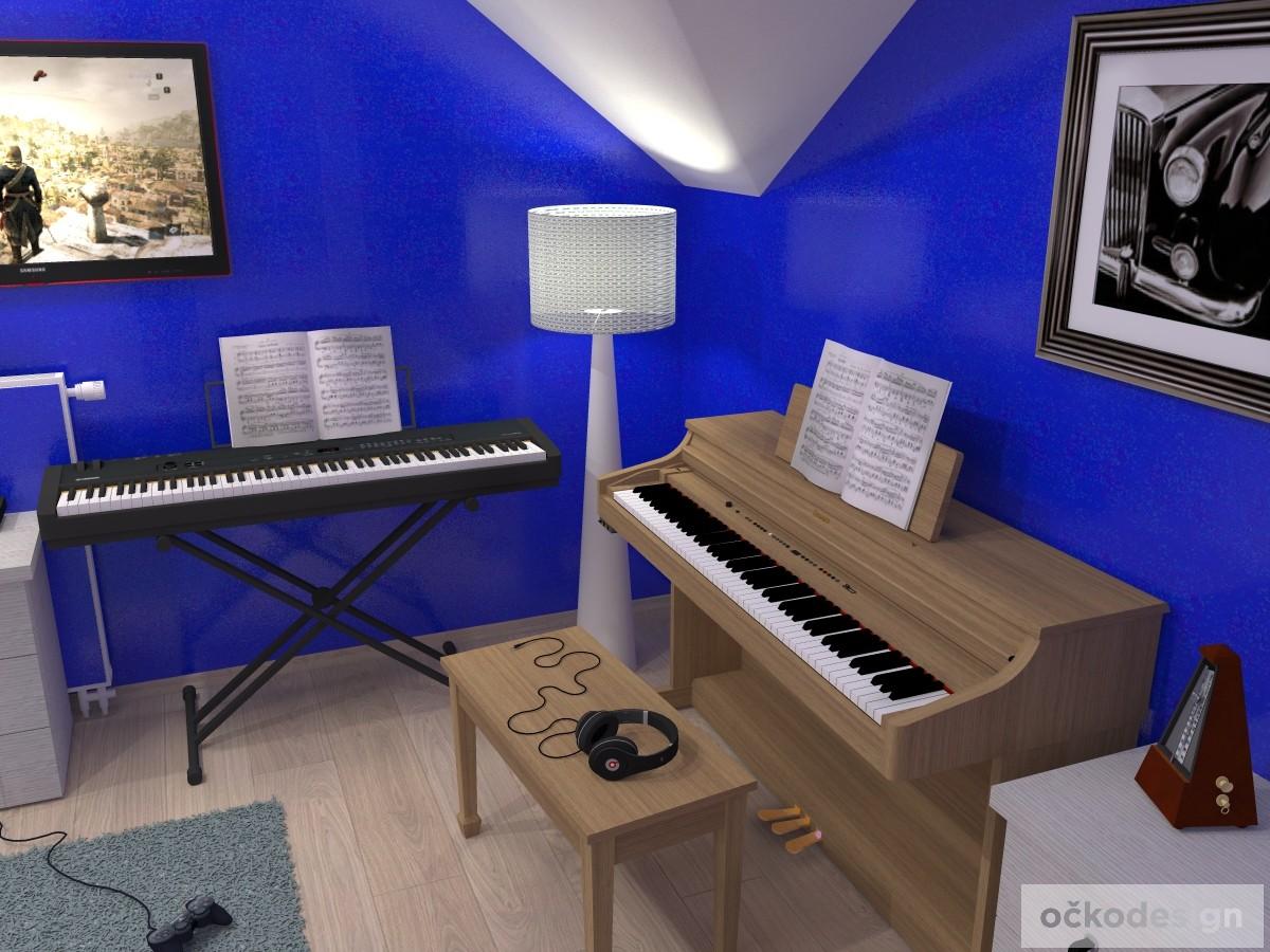 i,designový studenstký pokoj, jan navrhnout dětský, Petr Molek designer, designové interiéry, moderní dům