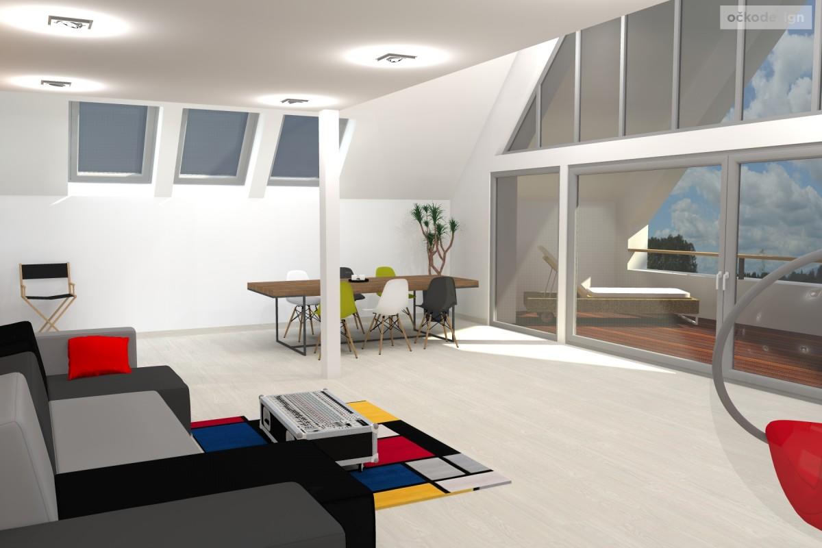 rekonstrukce domu, přestavba domu, netradiční interiéry, jak rekonstruovat dům,b