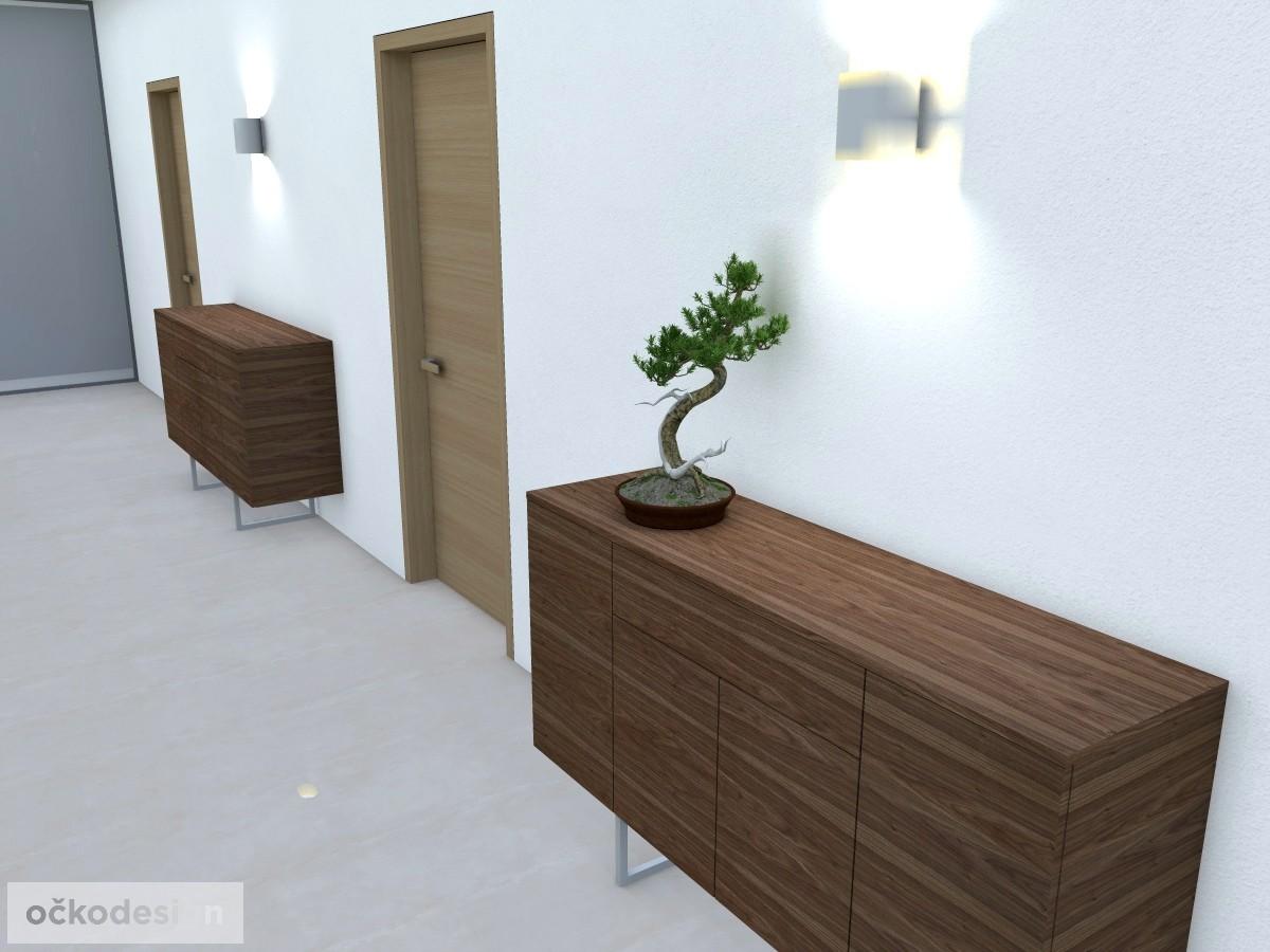 e,designová předsíň,moderní dům,3d návrhy interiérů,Petr Molek Designer Praha, návrhy rezidencí, moderní interiéry