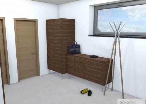 j,designová předsíň,moderní dům,3d návrhy interiérů,Petr Molek Designer Praha, návrhy rezidencí, moderní interiéry