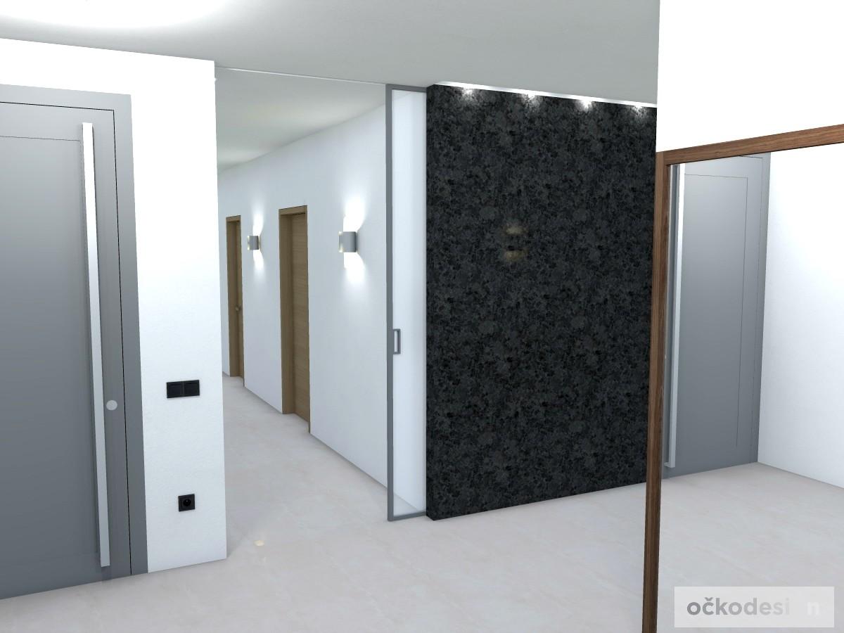k,designová předsíň,moderní dům,3d návrhy interiérů,Petr Molek Designer Praha, návrhy rezidencí, moderní interiéry