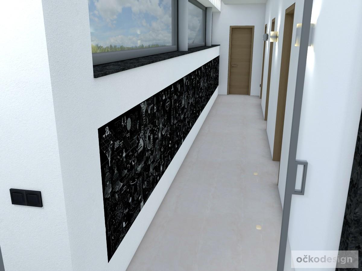 n,designová předsíň,moderní dům,3d návrhy interiérů,Petr Molek Designer Praha, návrhy rezidencí, moderní interiéry
