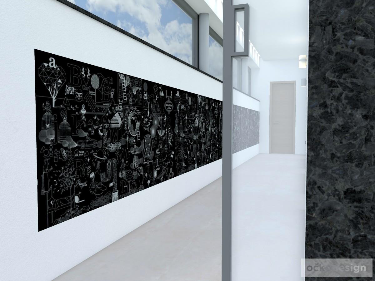 o,designová předsíň,moderní dům,3d návrhy interiérů,Petr Molek Designer Praha, návrhy rezidencí, moderní interiéry