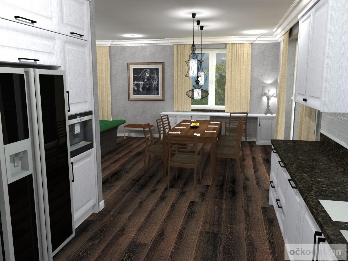 Provence kuchyně, rustikální. Petr Molek designer, očkodesign