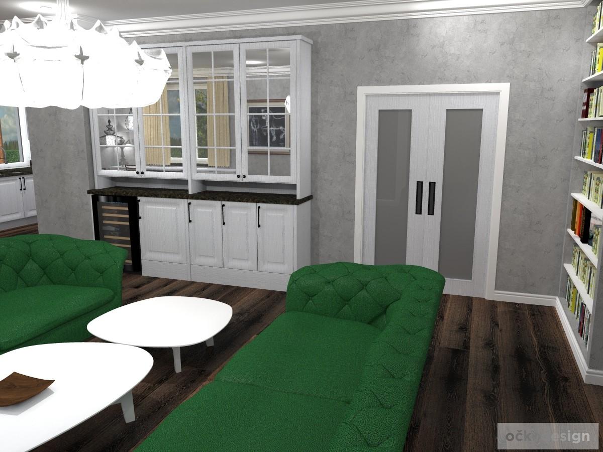 Interiér ve stylu Provence, Rustikální kuchyně. Petr Molek designer