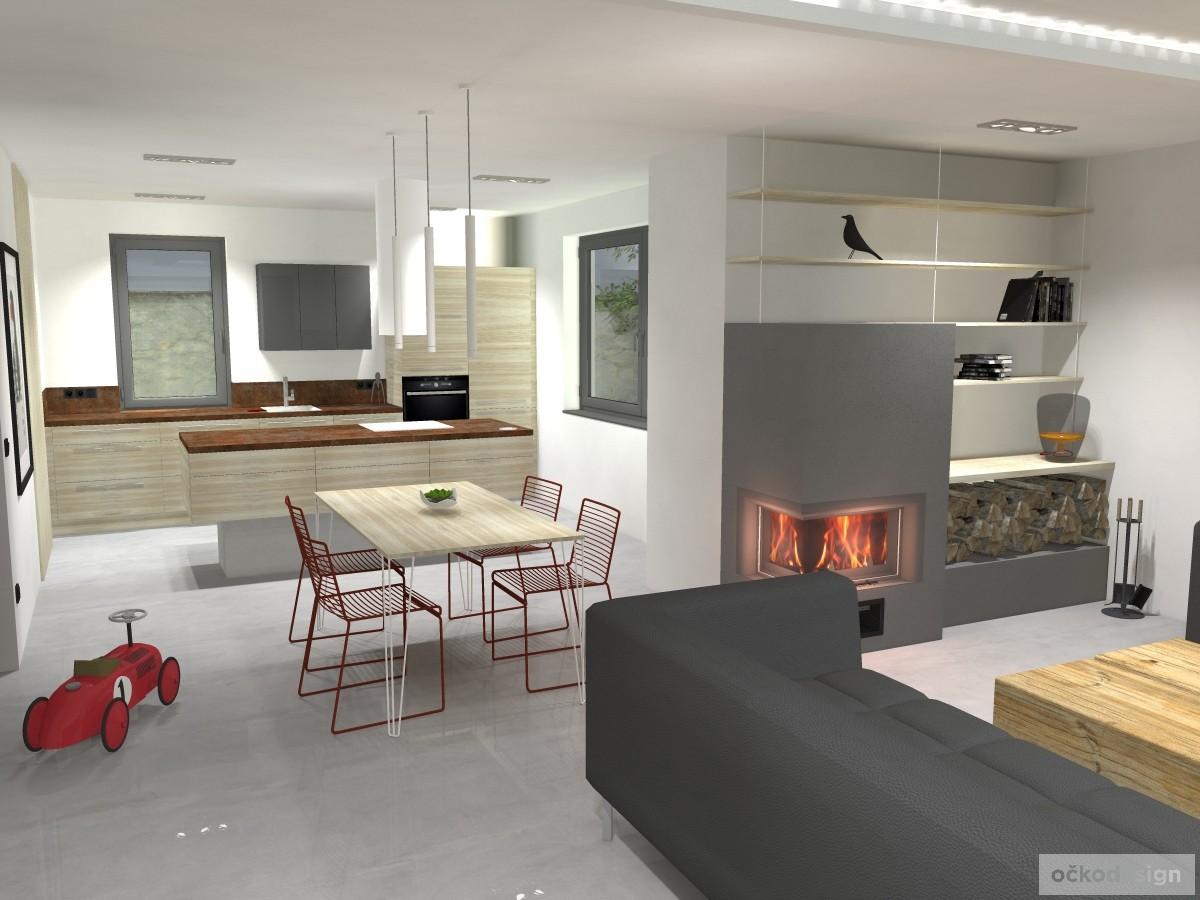 04 minimalistický interiér, krásné interiéry,kuchyň spojená s obývákem,jak zařídit interiér