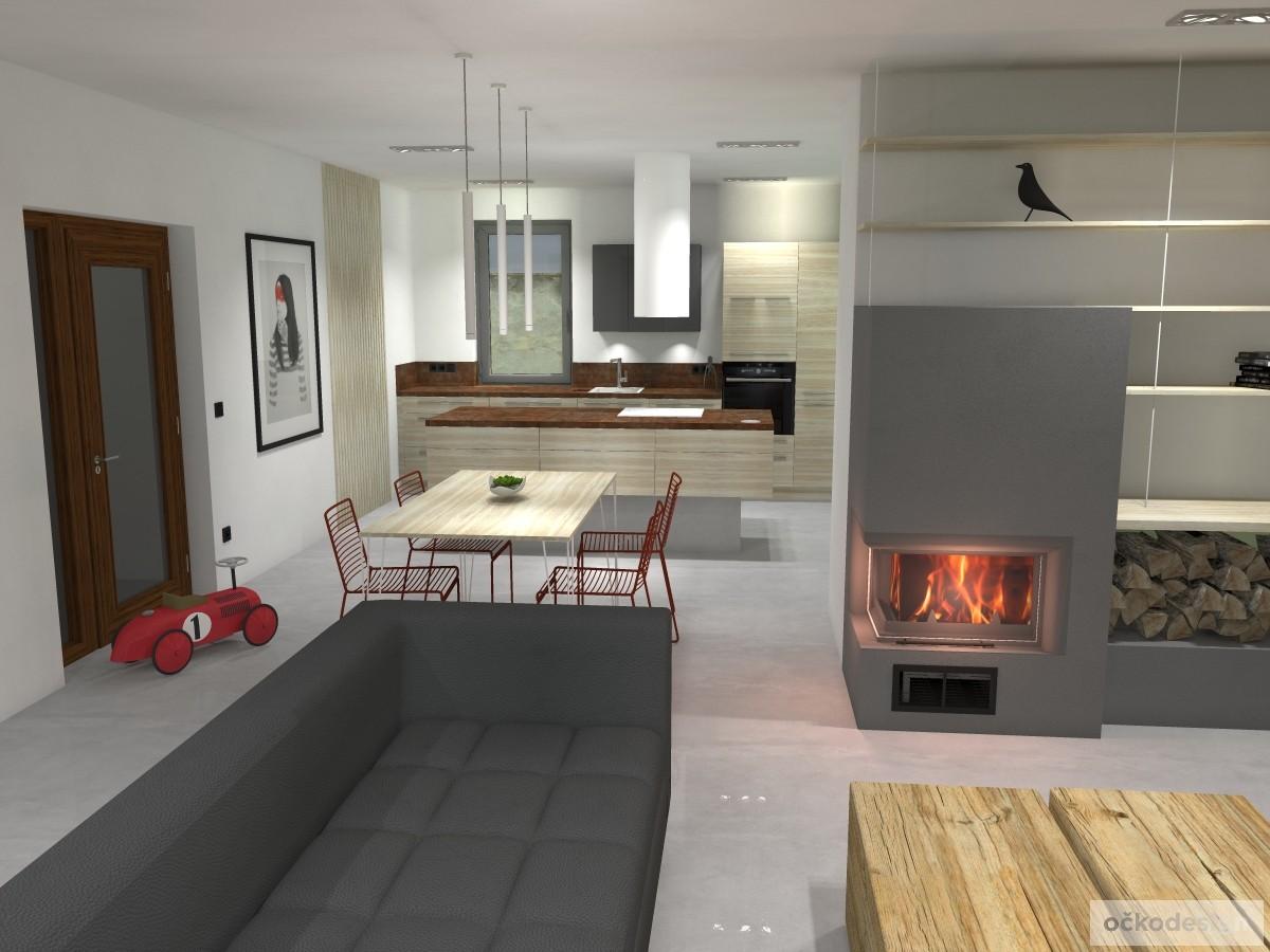18 minimalistický interiér, krásné interiéry,kuchyň spojená s obývákem,jak zařídit interiér