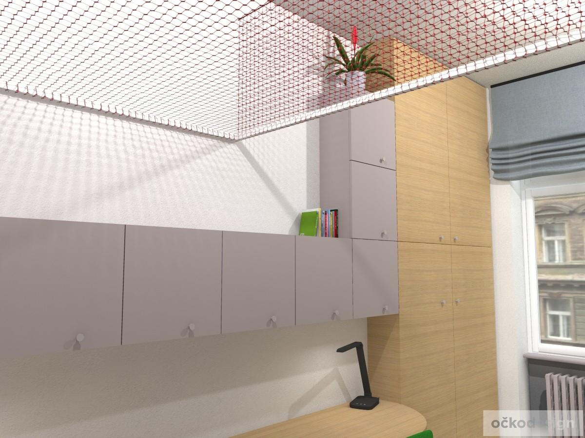 originální dětský pokoj, pro dvě děti, 3D návrhy interiérů, jak zařídit dětský, dětské pokoje