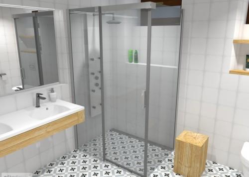 wellness rustikální koupelna jak navrhnout koupelnu