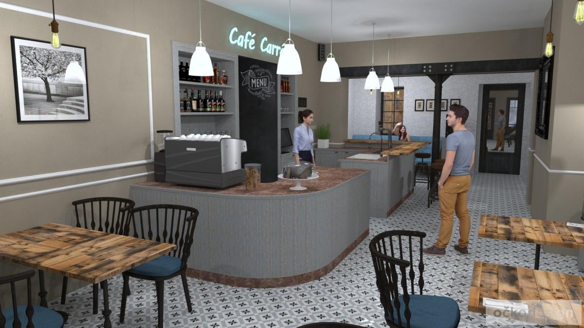 designové kavárny, Petr Molek designer, stylové bistro,provence interiéry, návrhy restaurací hotelů 05
