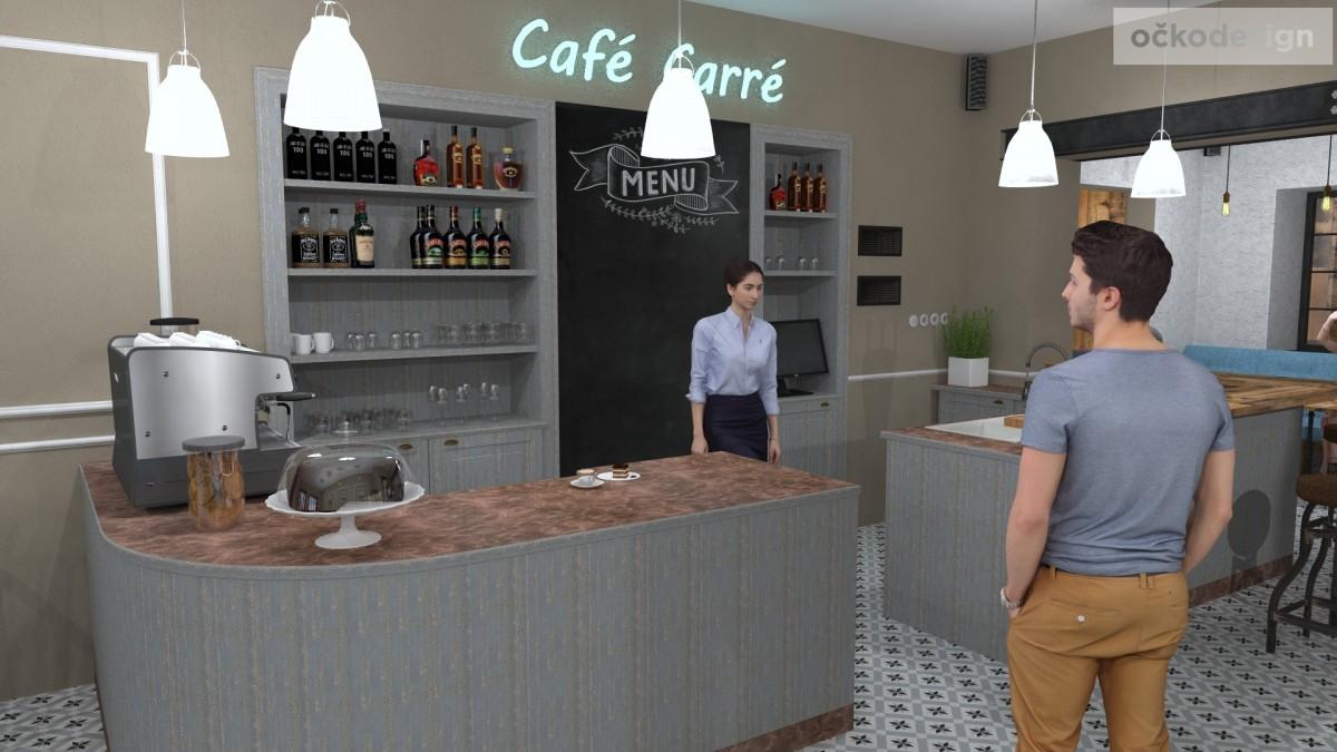 designové kavárny, Petr Molek designer, stylové bistro,provence interiéry, návrhy restaurací hotelů 07