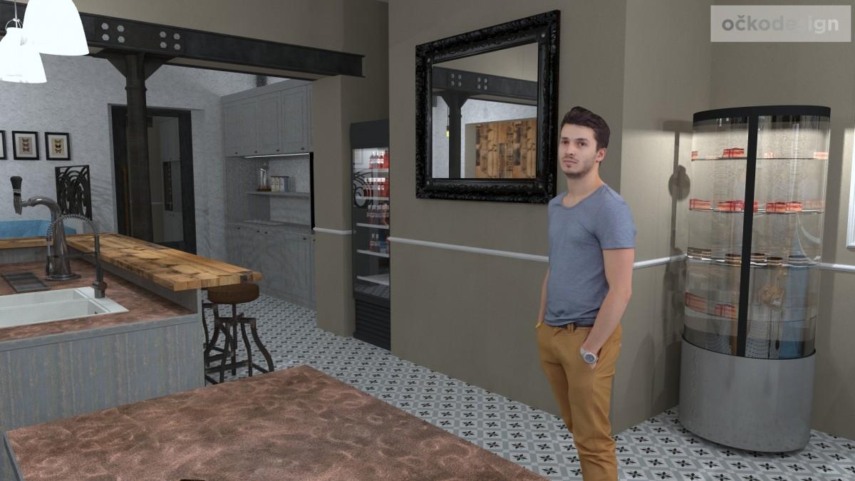 designové kavárny, Petr Molek designer, stylové bistro,provence interiéry, návrhy restaurací hotelů 08
