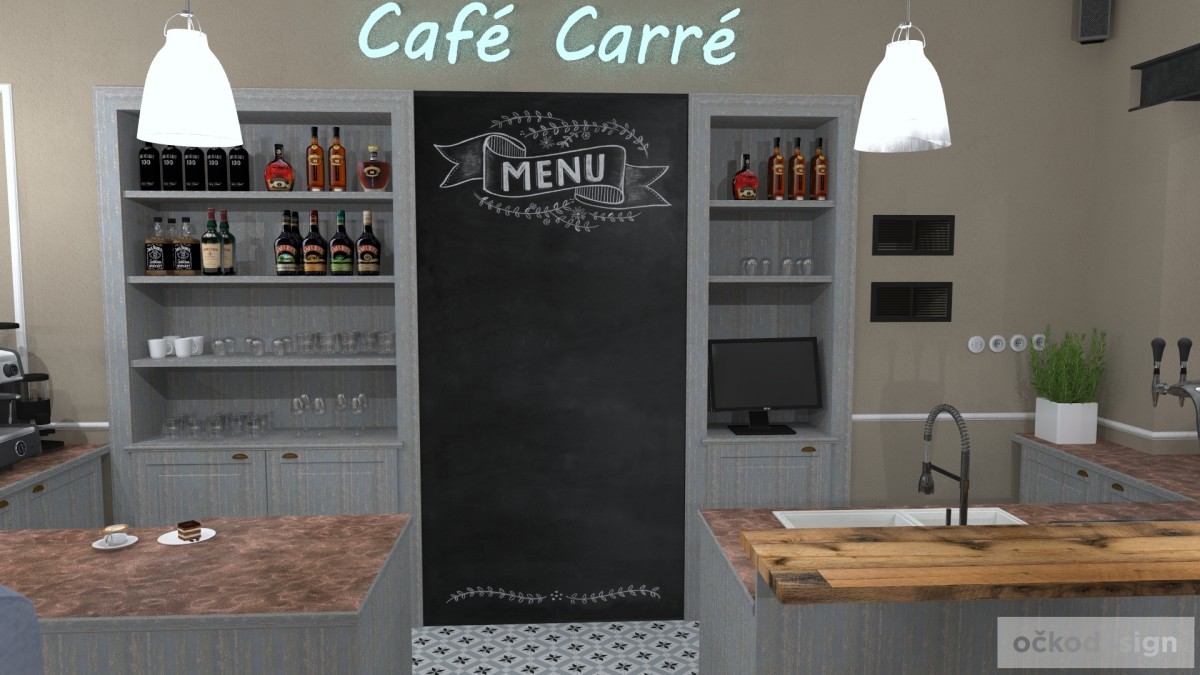 designové kavárny, Petr Molek designer, stylové bistro,provence interiéry, návrhy restaurací hotelů 10