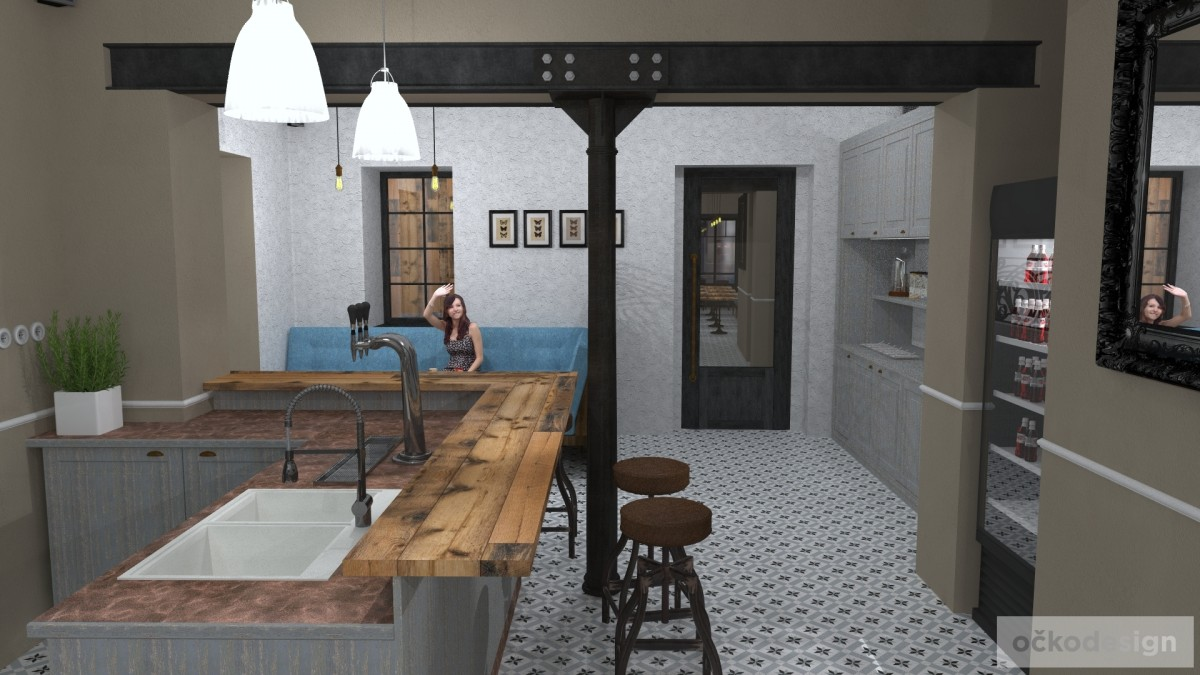 designové kavárny, Petr Molek designer, stylové bistro,provence interiéry, návrhy restaurací hotelů 11