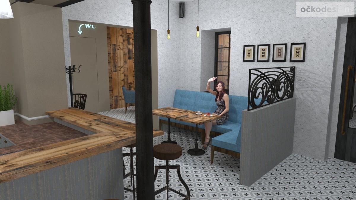 designové kavárny, Petr Molek designer, stylové bistro,provence interiéry, návrhy restaurací hotelů 12