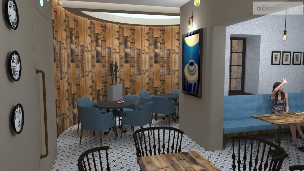 designové kavárny, Petr Molek designer, stylové bistro,provence interiéry, návrhy restaurací hotelů 16