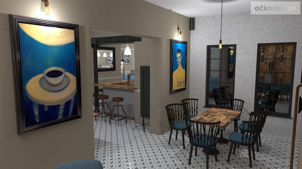 designové kavárny, Petr Molek designer, stylové bistro,provence interiéry, návrhy restaurací hotelů 19