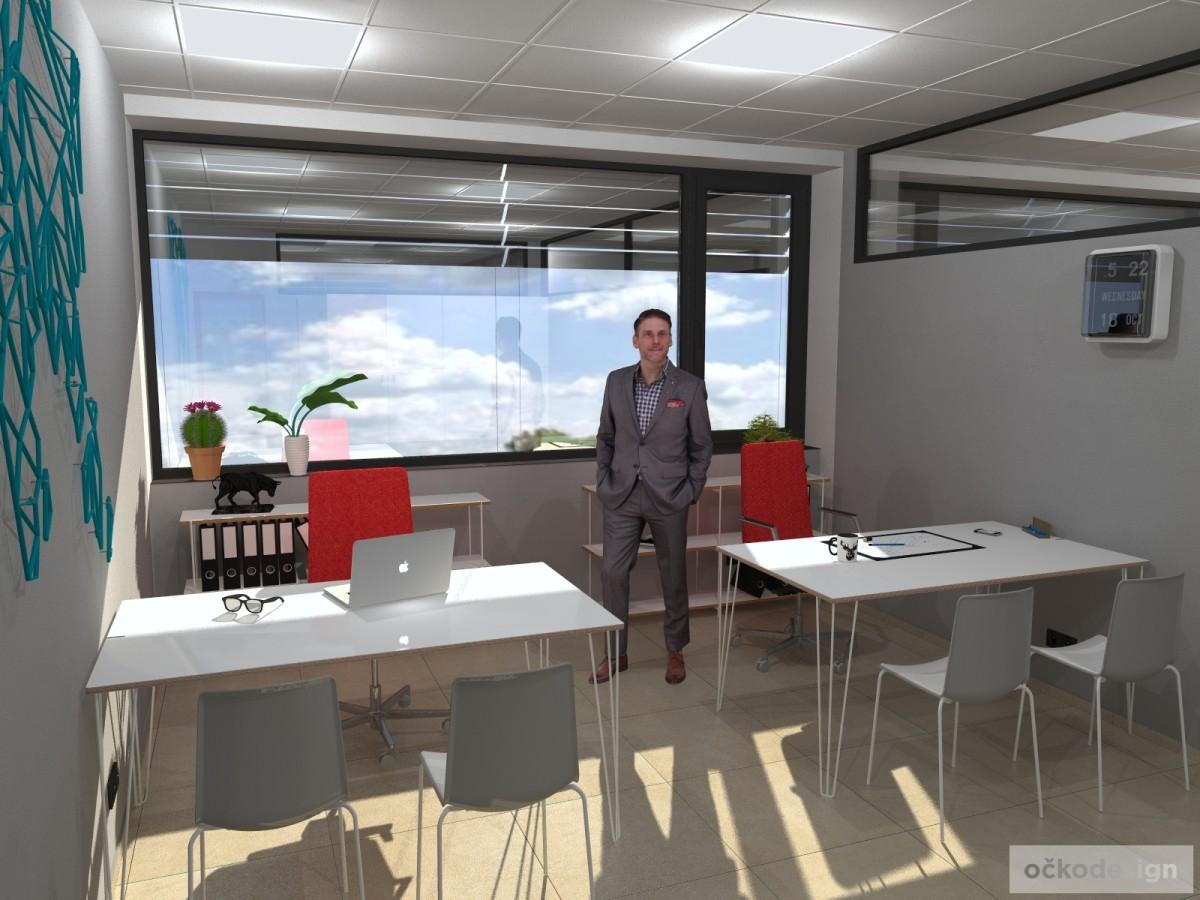 design office, smart office, designová kancelář, moderní interiéry,Petr Molek designer_0