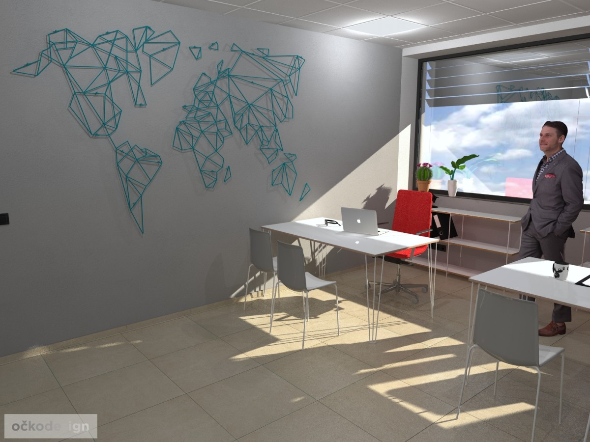 design office, smart office, designová kancelář, moderní interiéry,Petr Molek designer_2