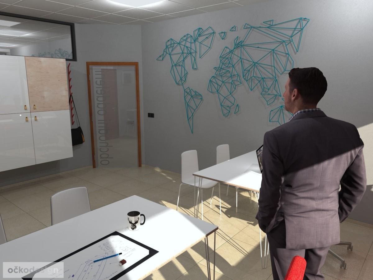 design office, smart office, designová kancelář, moderní interiéry,Petr Molek designer_4