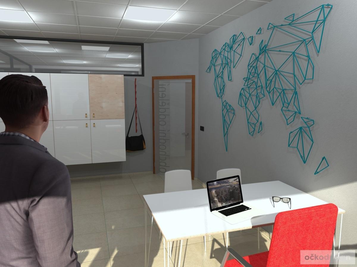 design office, smart office, designová kancelář, moderní interiéry,Petr Molek designer_5
