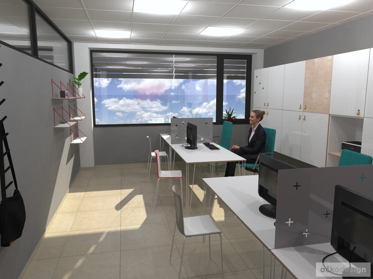 Designové kanceláře, jak navrhnout kancelář, moderní interiéry, moderní kancelář, návrhy komerčních, Petr Molek_02