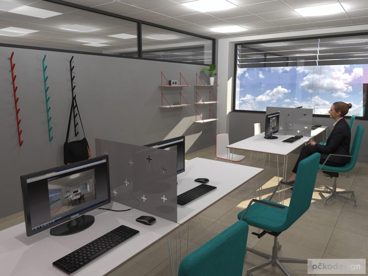Designové kanceláře, jak navrhnout kancelář, moderní interiéry, moderní kancelář, návrhy komerčních, Petr Molek_03