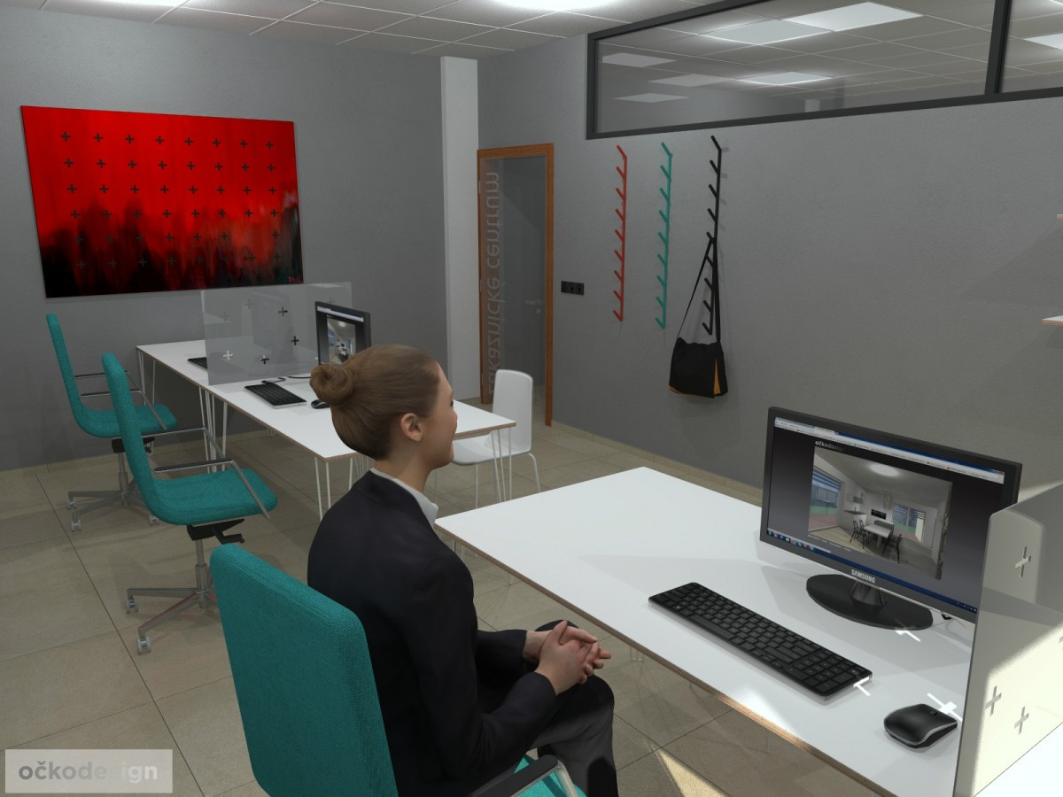Designové kanceláře, jak navrhnout kancelář, moderní interiéry, moderní kancelář, návrhy komerčních, Petr Molek_05