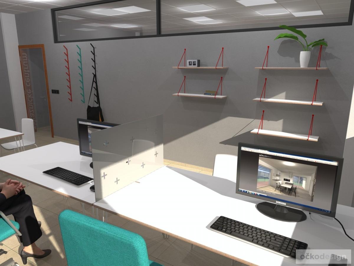 Designové kanceláře, jak navrhnout kancelář, moderní interiéry, moderní kancelář, návrhy komerčních, Petr Molek_06