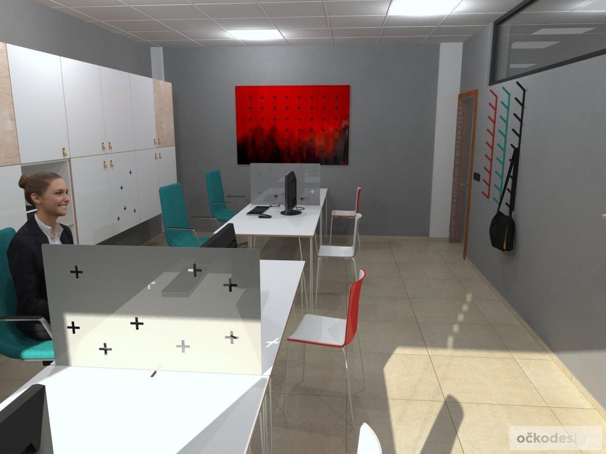 Designové kanceláře, jak navrhnout kancelář, moderní interiéry, moderní kancelář, návrhy komerčních, Petr Molek_07