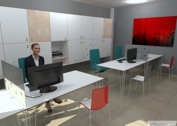 Designové kanceláře, moderní interiéry, moderní kancelář, návrhy komerčních, Petr Molek_08