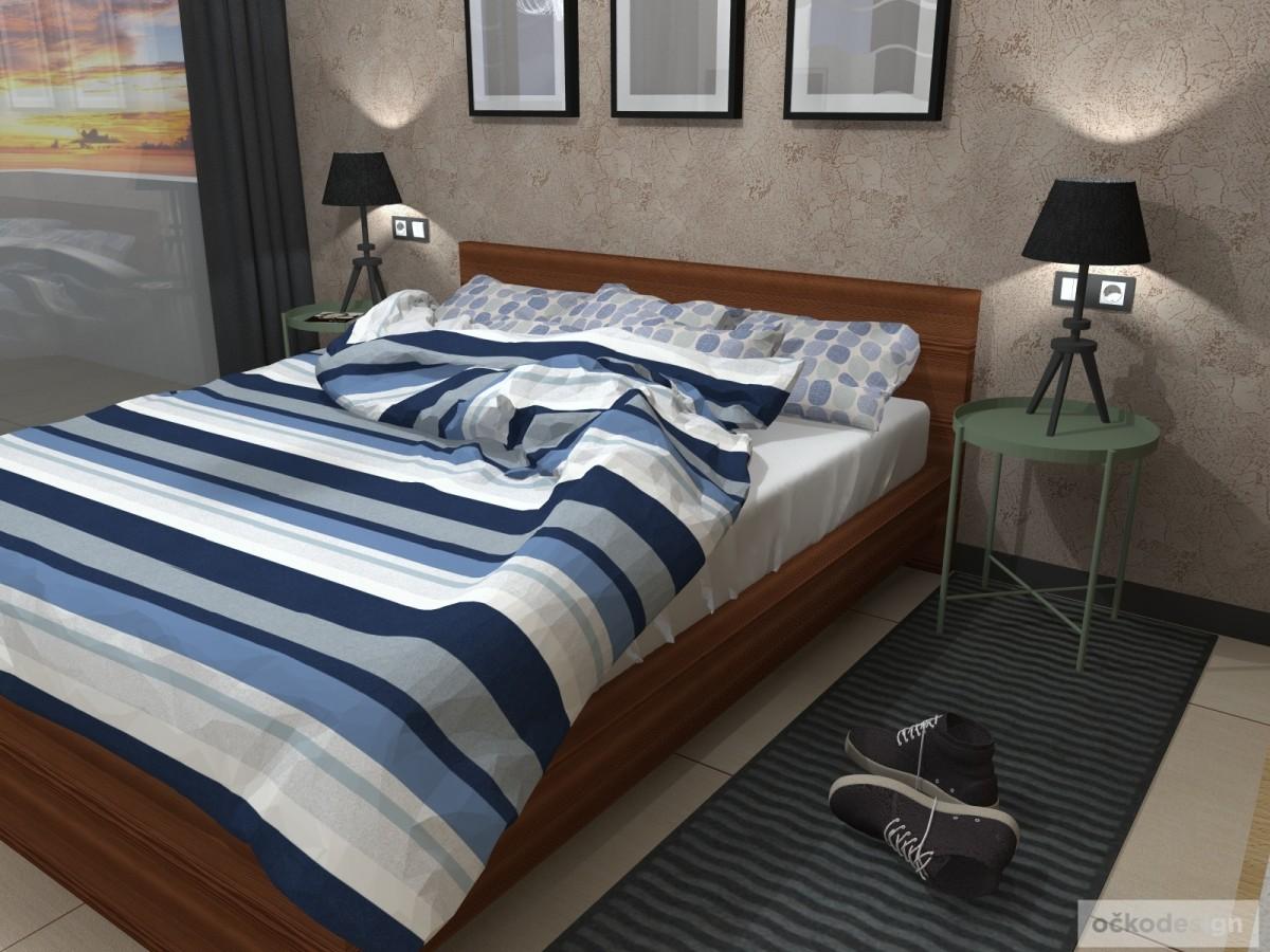 designový apartmán Kanárské ostrovy, Petr Molek designer,Moderní Apartmány u moře, návrhy hotelů 02
