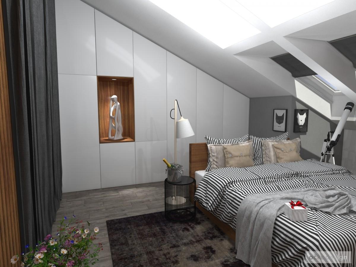 Luxusní ložnice,designová ložnice, design badroom,ložnice mezonet, loftové bydlení_01