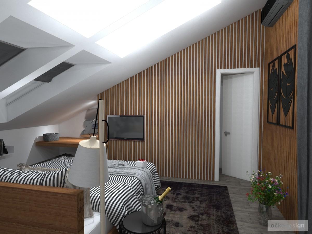 Luxusní ložnice,designová ložnice, design badroom,ložnice mezonet, loftové bydlení_04
