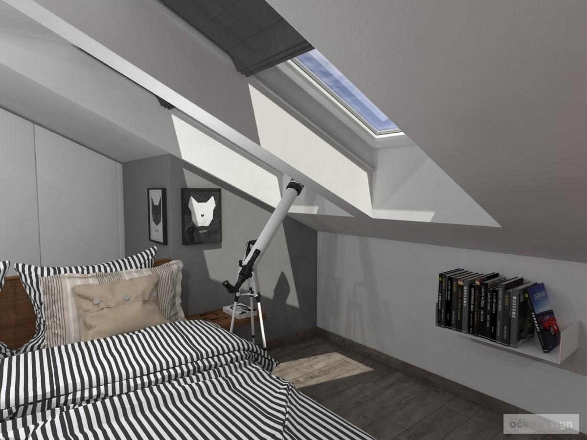 Luxusní ložnice,designová ložnice, design badroom,ložnice mezonet, loftové bydlení_10
