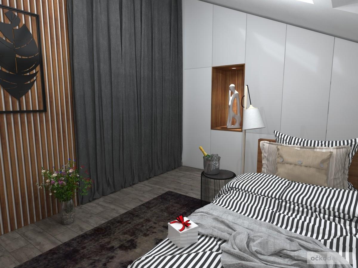 Luxusní ložnice,designová ložnice, design badroom,ložnice mezonet, loftové bydlení_12