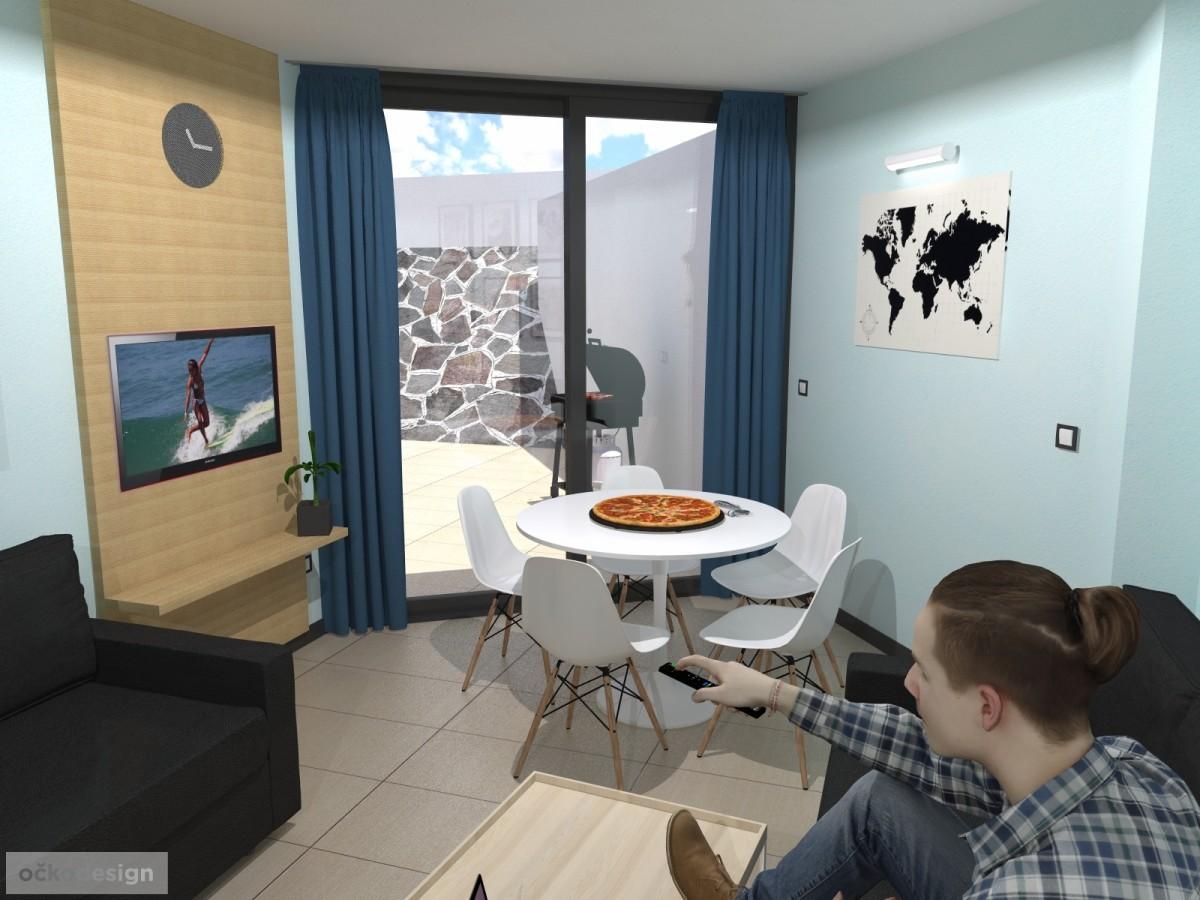 Návrhy interiérů,návrhy hotelů kaváren,Petr Molek očkodesign,u moře 9
