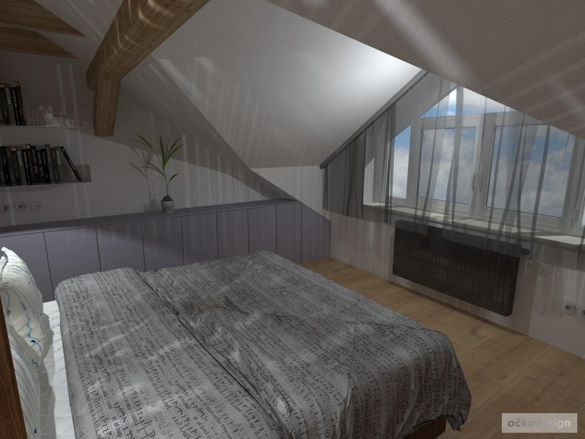 loftové byty, industriální styl,3d návrhy,Petr Molek, Bytový architekt Praha