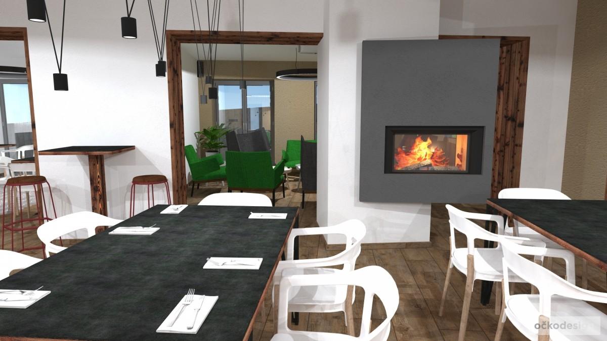 Návrhy a realizace interiérů hotelů, penzionů, restaurací, kaváren