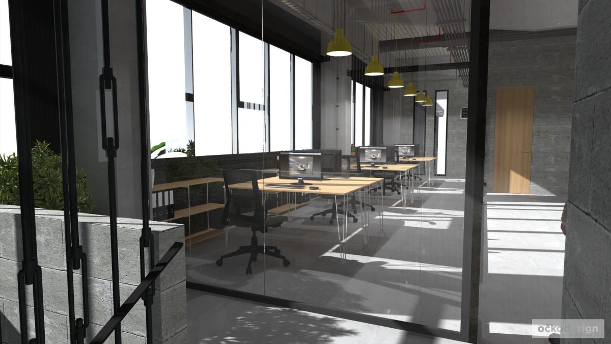 Petr Molek, raw kanceláře, netradiční kancelář, open space, industriální kanceláře