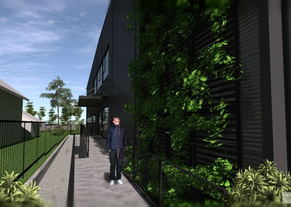 sendvičové stavby jinak, Petr Molek, vertikální živá zahrada
