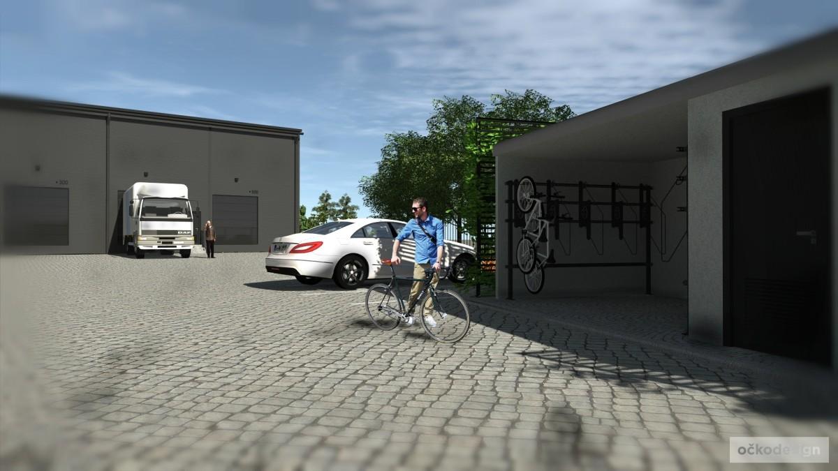 netradiční sendvičová stavba, Petr Molek, vertikální zahrada