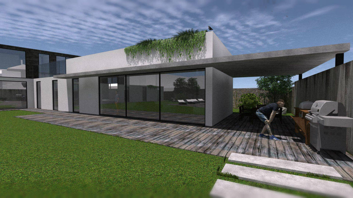 rezidence -studie rodinného domu