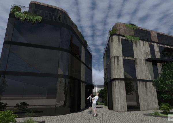 Polyfunkce Olomouc tři kameny studie rodinných domů,bytů,interiérů